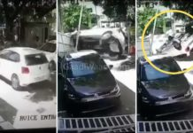 VW Polo Acccident