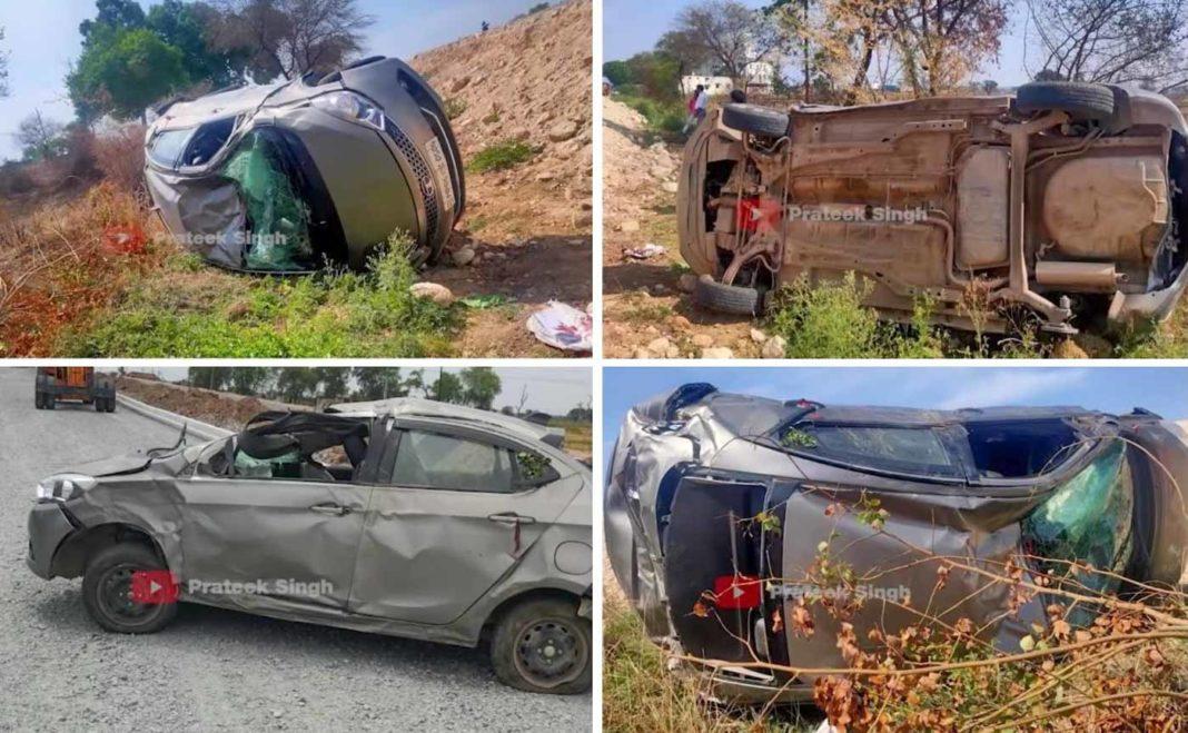 Tata tigor accident-2