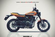 Harley Davidson 350cc Rendering