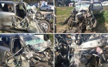 Tata Hexa Accident