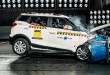 Mahindra xuv 300 crash