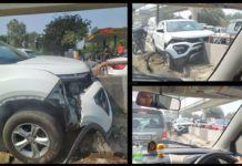 Tata Harrier Accident
