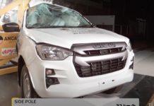 2020 Isuzu D-Max Euro NCAP Crash Tests