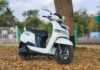 TVS iQube Electric Scooter