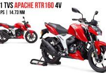 2021 TVS Apache RTR 160 4V