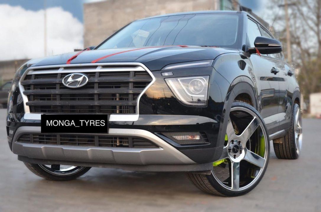 Hyundai-Creta-modified-22-inch-wheels-6