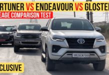 Toyota Fortuner vs MG Gloster vs Ford Endeavour