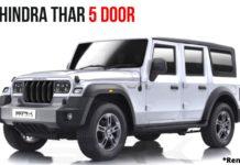 5-Door Mahindra Thar
