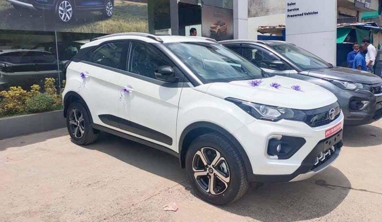 Tata Nexon with new alloys