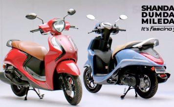 yamaha Fascino Hybrid Scooter