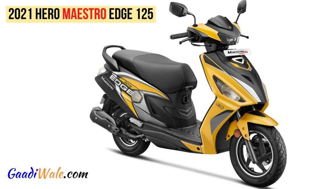 2021 Hero Maestro Edge 125