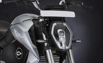 revolt electric motorcycle