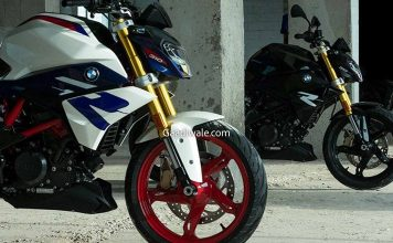 BMW G310R New Colors