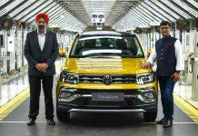 Volkswagen Taigun production start
