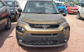 Tata Punch Spied at dealership