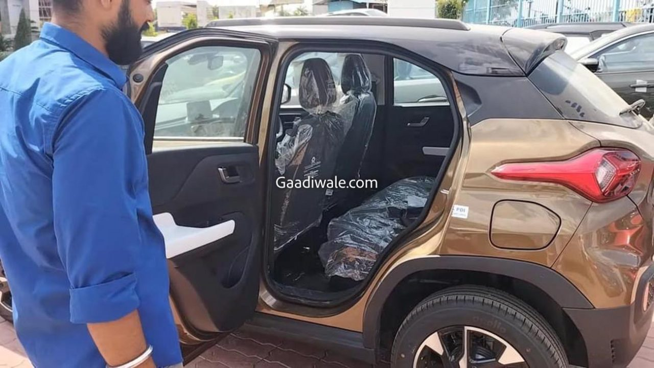 Tata Punch Spied at dealership-4