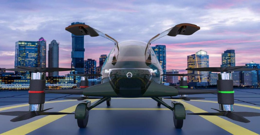 vinata flying car
