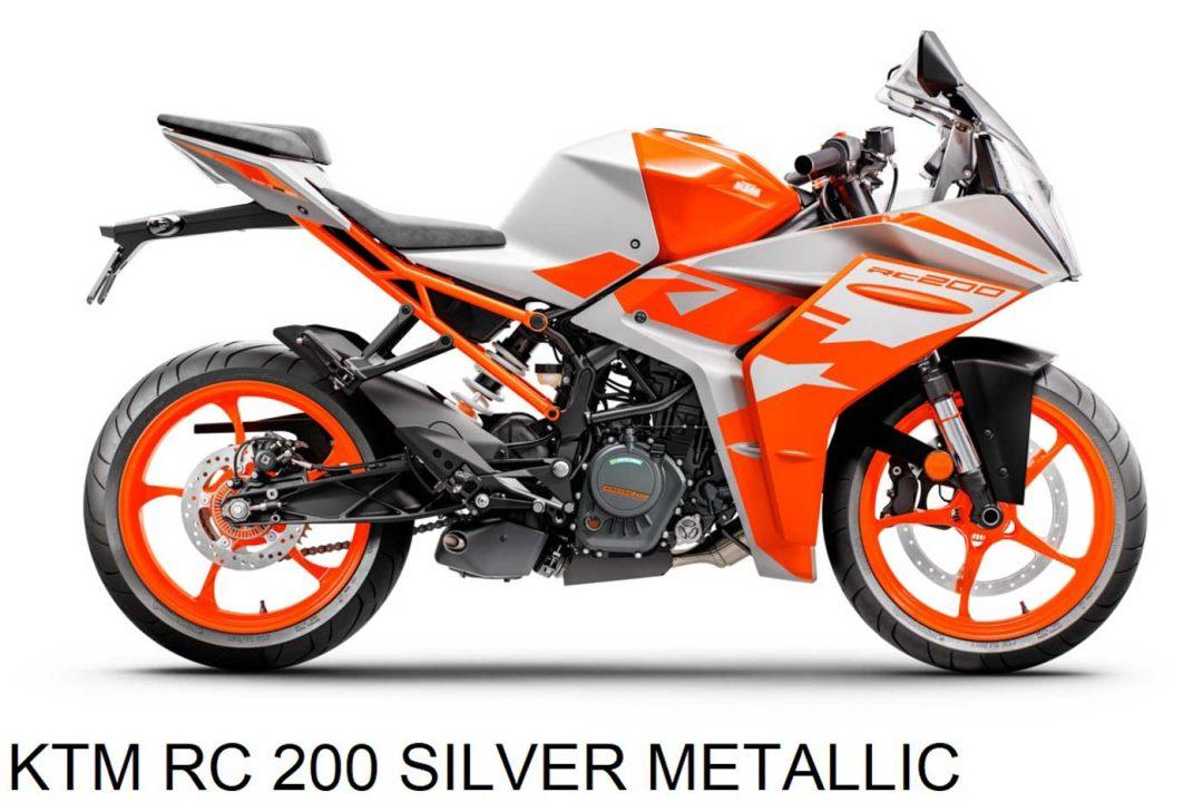 2022 KTM RC200-5