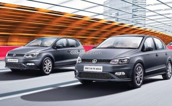 Volkswagen polo matte edition