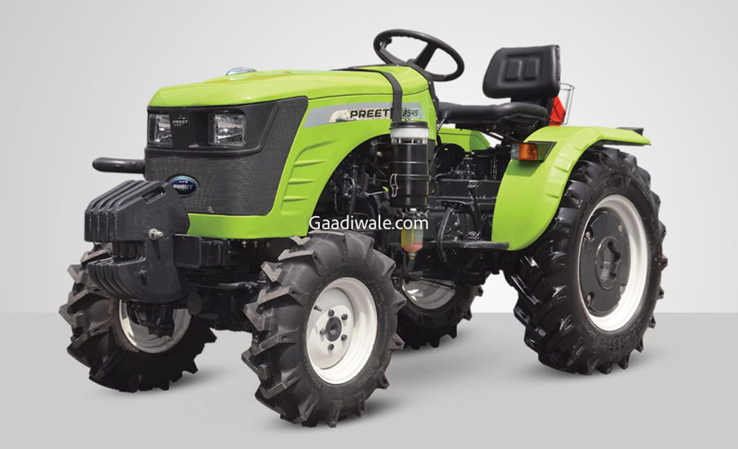 preet 2549 4WD tractor-2
